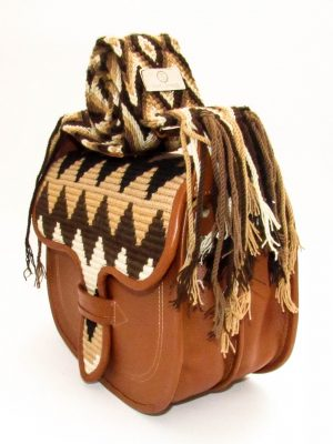 Carriel Wayuu Paisa Brown